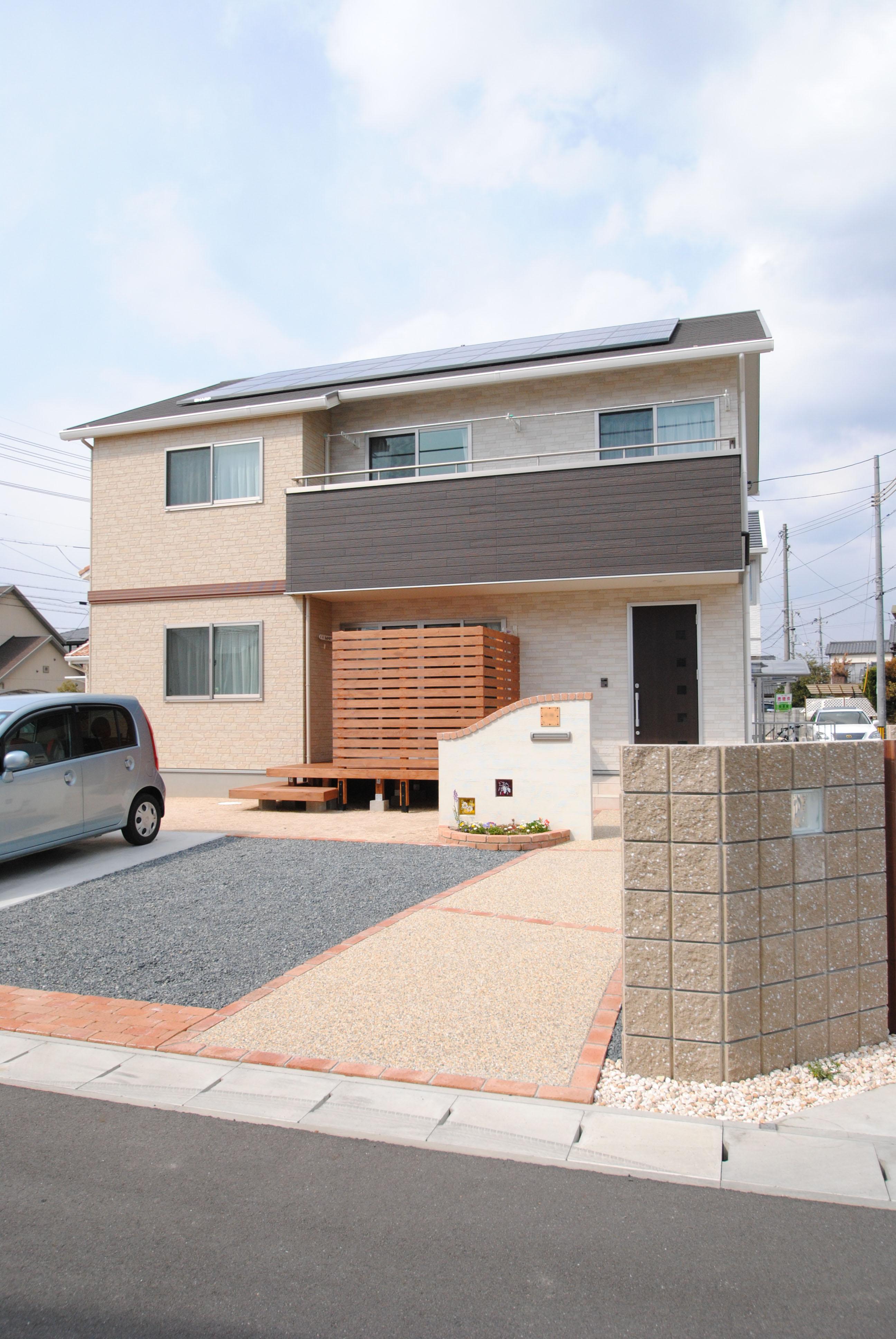 要望を細部まで実現してくれる自由設計の家 太陽光発電+オール電化で光熱費もダウン イメージ