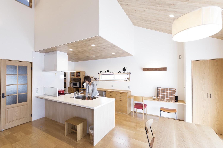 伸びやかリビングでコストパフォーマンスに優れた家 イメージ