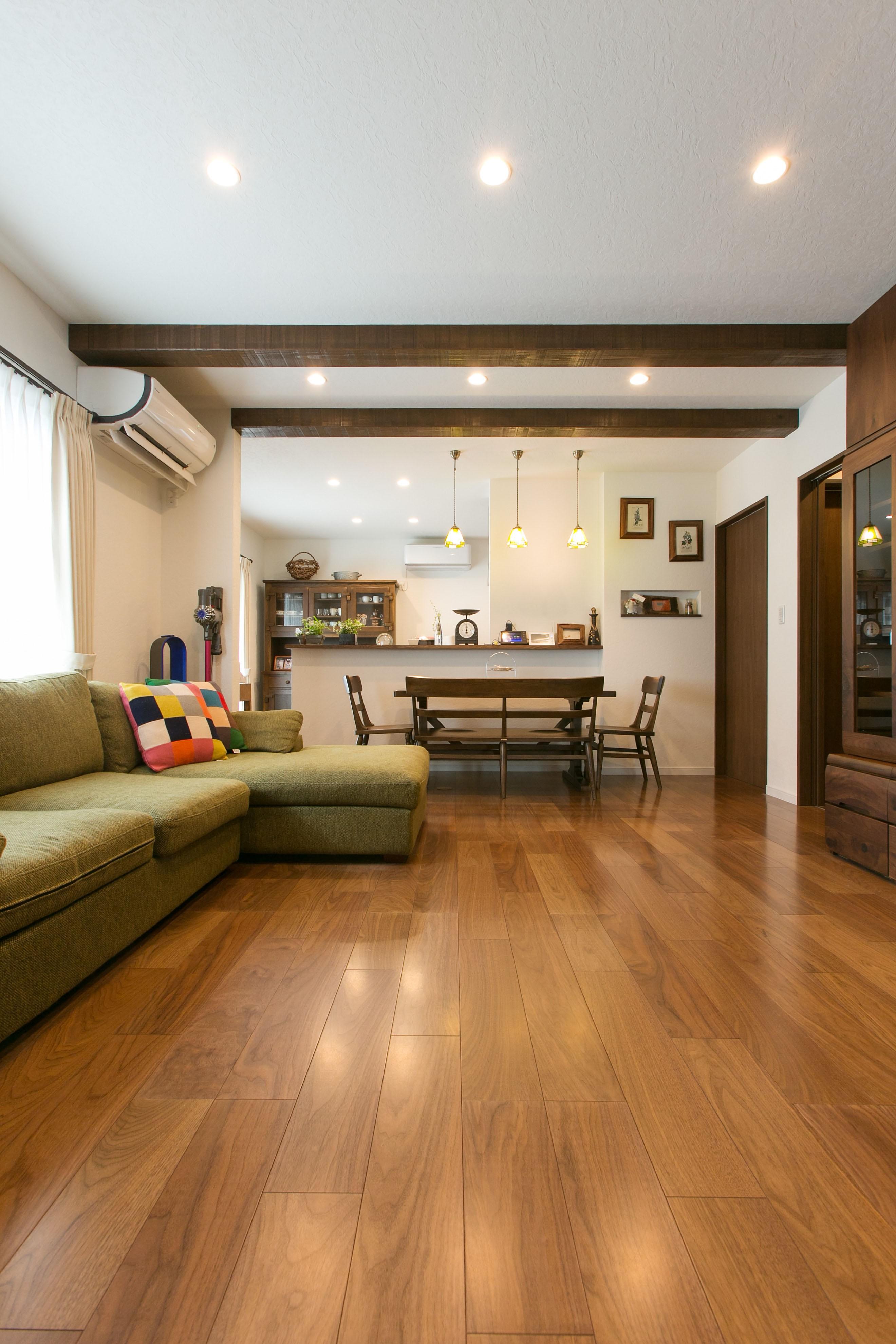 大切にしてきた家具の似合うアンティークスタイルの家 イメージ