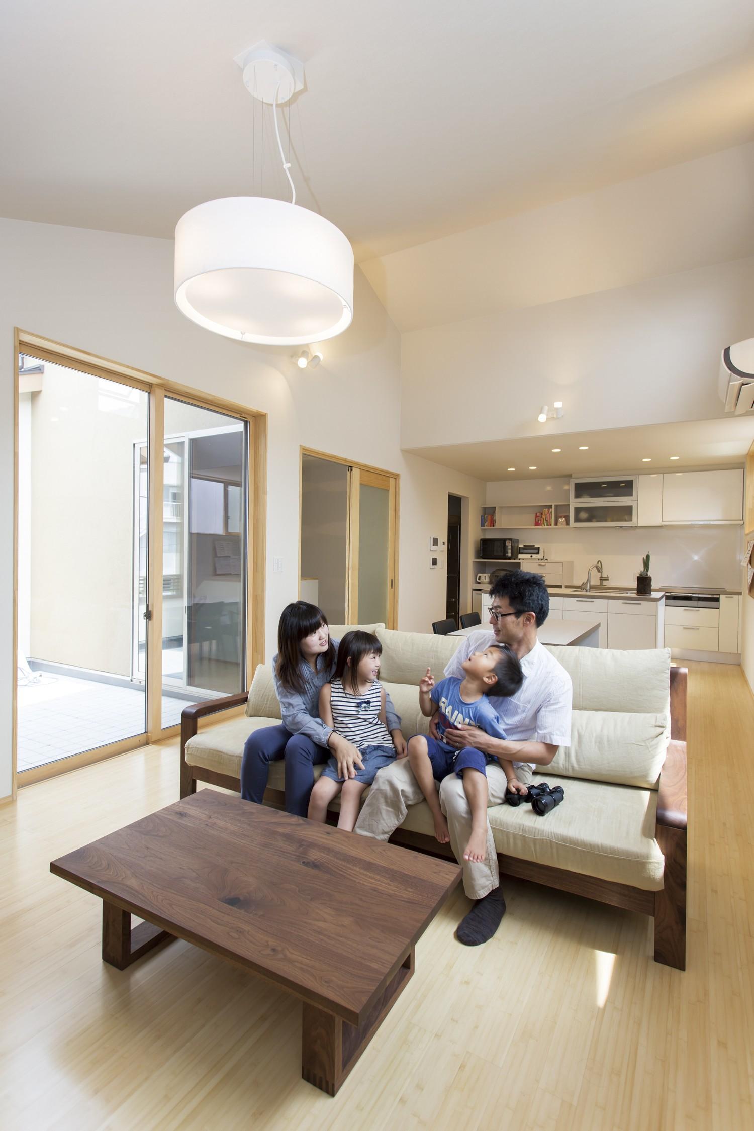 適材適所の収納で片付け上手 子どもの自立を育む家 イメージ