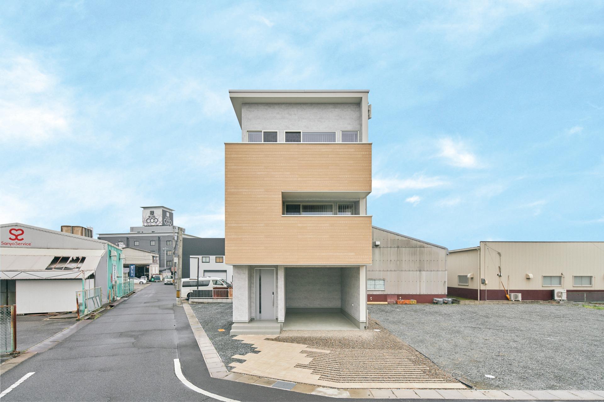 CLT戸建住宅 イメージ