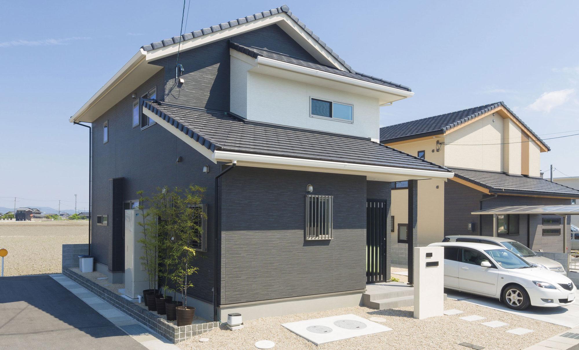 和の落ち着きと清々しさをモダンな住いに表現した家 イメージ