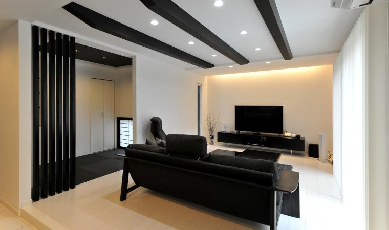 モノトーンで統一された上質なデザイン住宅 イメージ